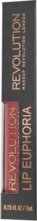 Tekutá rtěnka - Makeup Revolution Lip Euphoria