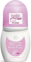 Parfémy, Parfumerie, kosmetika Breeze Perfect Beauty Deo Roll-On 50 48h - Kuličkový deodorant