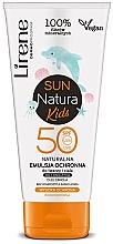 Parfémy, Parfumerie, kosmetika Emulze na opalování SPF 50+, dětská - Lirene Sun Natura Kids Protective Emulsion SPF50+