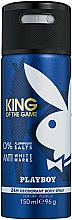 Parfémy, Parfumerie, kosmetika Playboy King Of The Game - Deodorant