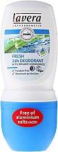 Parfémy, Parfumerie, kosmetika Deodorant roll-on - Lavera Fresh 24h Deodorant With Organic Lemobgrass