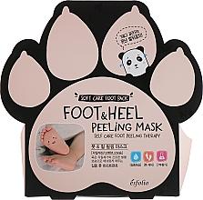 Parfémy, Parfumerie, kosmetika Peelingová maska na chodidla - Esfolio Foot & heel Peeling Mask