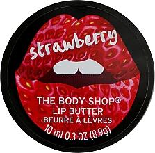 Parfémy, Parfumerie, kosmetika Máslo na rty - The Body Shop Strawberry Lip Butter