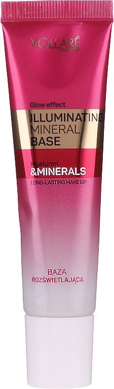 Báze pod make-up s rozjasňujícím efektem - Vollare Glow Effect Illuminating Mineral Base