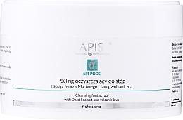 Parfémy, Parfumerie, kosmetika Čisticí peeling na nohy - Apis Professional Api-Podo