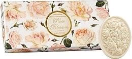 """Parfémy, Parfumerie, kosmetika Sada toaletních mýdel """"Růže"""" - Saponificio Artigianale Fiorentino Rose Blossom (Soap/3x125g)"""