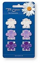 Parfémy, Parfumerie, kosmetika Skřipce do vlasů 6 ks 24160 - Top Choice
