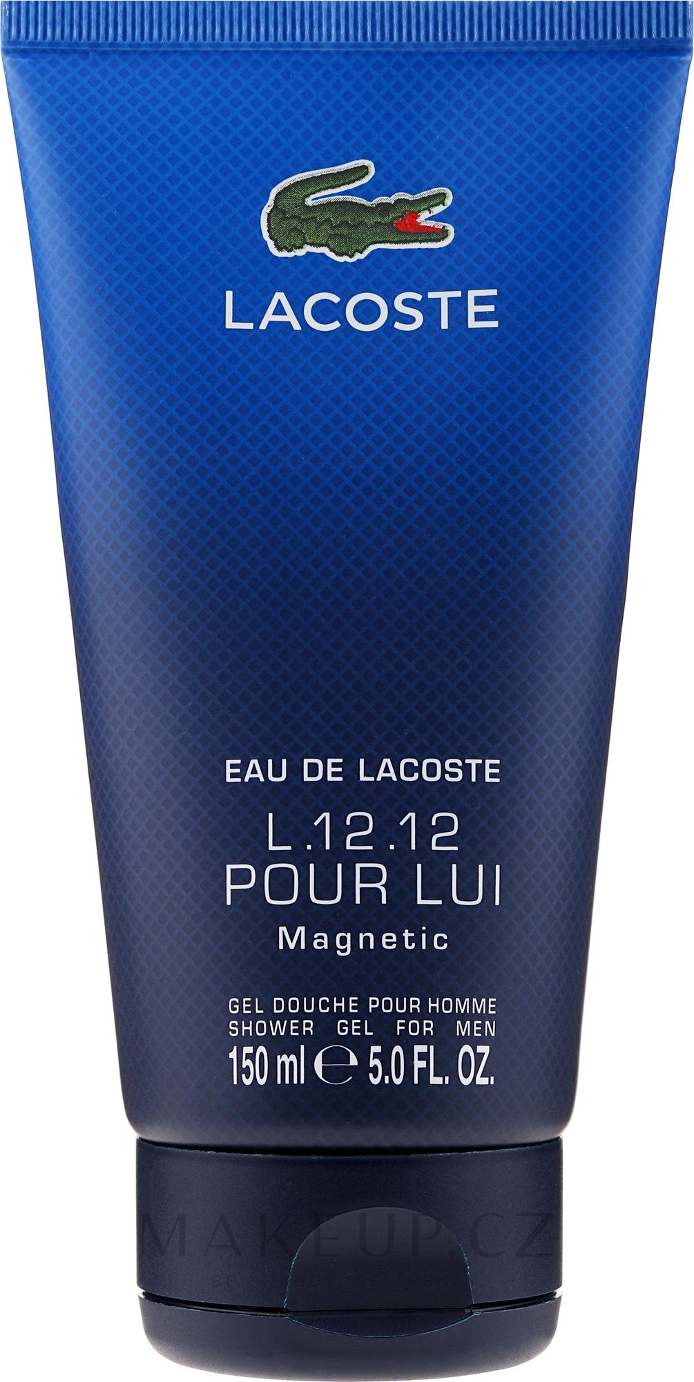 Lacoste Eau De L.12.12 Pour Lui Magnetic - Sprchový gel — foto 150 ml