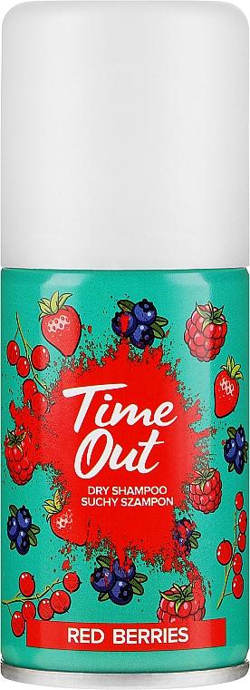 Suchý šampon na vlasy - Time Out Dry Shampoo Red Berries