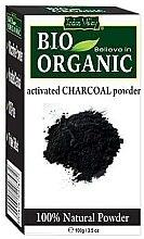 Parfémy, Parfumerie, kosmetika Prášek Aktivní uhlí pro péči o pleť a vlasy - Indus Valley Bio Organic Activated Charcoal Powder