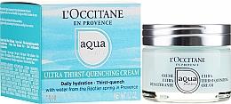 Parfémy, Parfumerie, kosmetika Ultra hydratační krém na obličej - L'Occitane Aqua Reotier Acial Ultra Hidratante