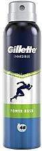 Parfémy, Parfumerie, kosmetika Aerosolový deodorant - Gillette Power Rush Invisible Antiperpirant Spray