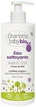 Parfémy, Parfumerie, kosmetika Dětská čistící voda - Charlotte Baby Bio Cleansing Water