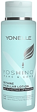 Parfémy, Parfumerie, kosmetika Micelární lotion - Yonelle Yoshino Pure & Care Betaine Micellar Lotion