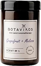 Parfémy, Parfumerie, kosmetika Botavikos Greipfrut&Melisa - Vonná svíčka