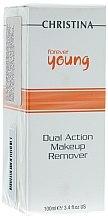 Parfémy, Parfumerie, kosmetika Odstraňovač make-upu - Christina Forever Young Dual Action Make Up Remover