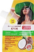 Parfémy, Parfumerie, kosmetika Opalovací krém s kokosovým olejem SPF30 - Fito Kosmetik Lidové recepty