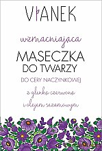 Parfémy, Parfumerie, kosmetika Zpevňující pleťová maska - Vianek