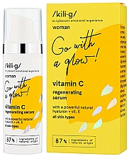 Parfémy, Parfumerie, kosmetika Regenerační pleťové sérum s vitamínem C - Kili·g Woman Vitamin C Regenerating Serum