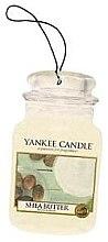 "Parfémy, Parfumerie, kosmetika Vůně ""Bambucké máslo"" - Yankee Candle Shea Butter Car Jar Ultimate"