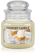 "Parfémy, Parfumerie, kosmetika Vonná svíčka ""Vanilkový kapkejk"" (sklenice) - Country Candle Vanilla Cupcake"