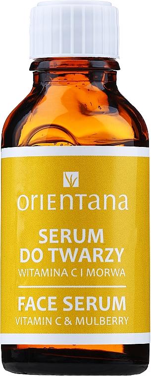 Sérum na obličej s vitamínem C - Orientana Bio Serum For Face