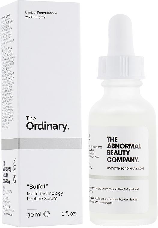 Peptidové pleťové sérum - The Ordinary Buffet Multi-Technology Peptide Serum