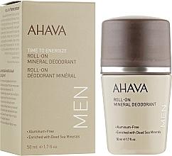 Parfémy, Parfumerie, kosmetika Pánský deodorant - Ahava Time To Energize Magnesium Rich Deodorant Roll-On