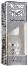 Parfémy, Parfumerie, kosmetika Matný vrchní lak na nehty - Flormar Matifying Touch