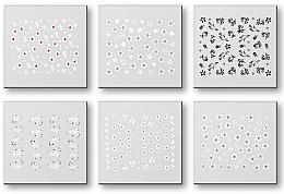 Parfémy, Parfumerie, kosmetika Nálepky na nehty, komplet 42928 - Top Choice Nail Decorations Stickers Set