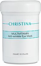 Parfémy, Parfumerie, kosmetika Multivitaminová maska pro oblast kolem oči - Christina Multivitamin Anti-Wrinkle Eye Mask