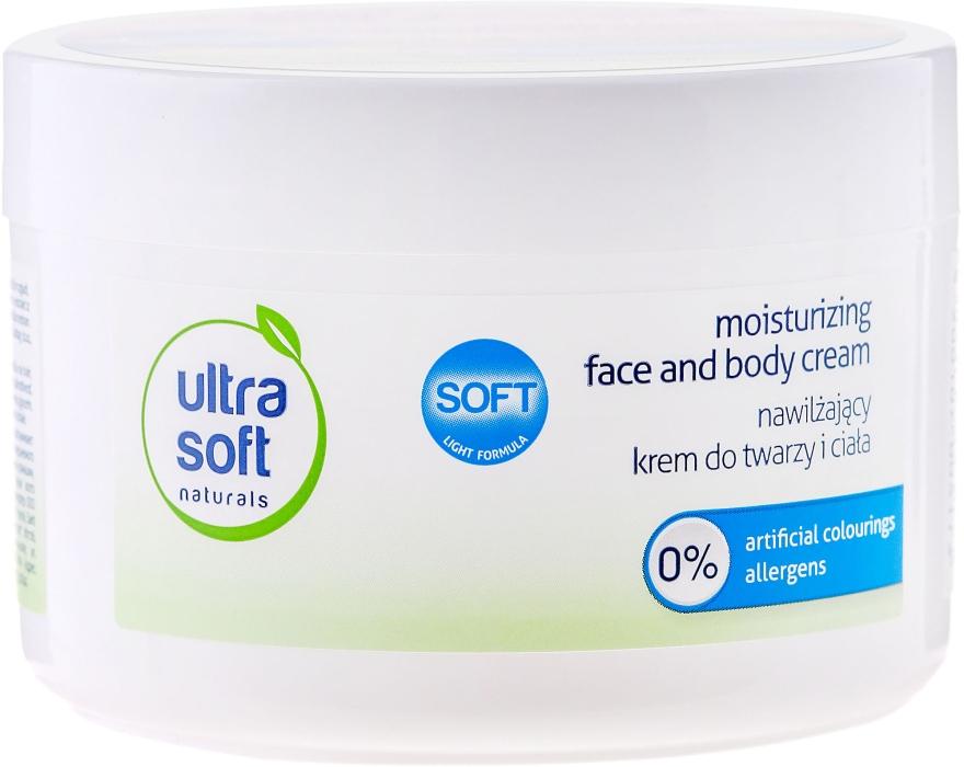 Hydratační krém na obličej a tělo - Ultra Soft Naturals Moisturising Face and Body Cream — foto N3
