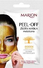 Parfémy, Parfumerie, kosmetika Maska na obličej - Marion Golden Skin Care Peel-Off Mask