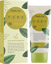 Parfémy, Parfumerie, kosmetika BB krém se semenami zelého čaje - FarmStay Green Tea Seed Pure Anti-Wrinkle BB Cream