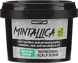 Parfémy, Parfumerie, kosmetika Oživující šampon na šedivé a blond vlasy - Beauty Jar Mintallica Refreshing Scalp Scrub