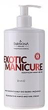 Parfémy, Parfumerie, kosmetika Regenerační krém na ruce a nehty - Farmona Professional Exotic Manicure SPA