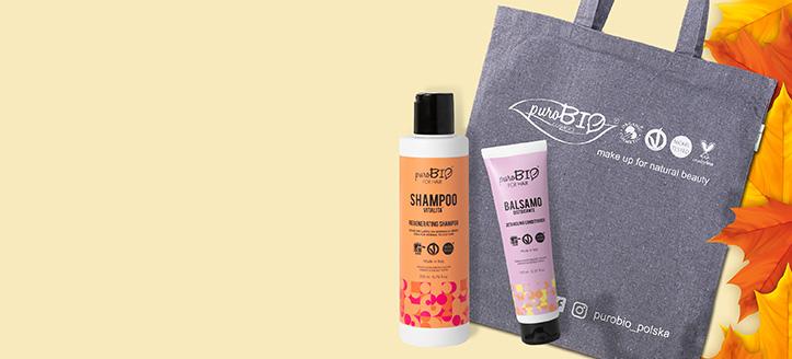 Získej nákupní tašku jako dárek k nákupu produktů PuroBio Cosmetics v hodnotě nad 447 Kč