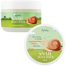 Parfémy, Parfumerie, kosmetika Hlemýždí lifting maska s tvarovou pamětí - Esfolio Snail Shape Memory Jelly Pack