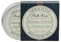 Parfémy, Parfumerie, kosmetika Vosk na vousy a knír - Bath House Menthol Snorwax
