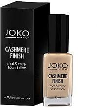 Parfémy, Parfumerie, kosmetika Make-up - Joko Cashmere Finish Mat & Cover Foundation