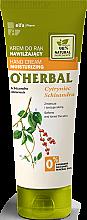 Parfémy, Parfumerie, kosmetika Hydratační krém na ruce s výtažkem z citrónové trávy - O'Herbal Moisturizing Hand Cream With Schisandra Extract