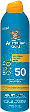 Parfémy, Parfumerie, kosmetika Sprej na opalování - Australian Gold Fresh & Cool Continuous Spray Sunscreen Spf50