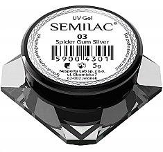 "Parfémy, Parfumerie, kosmetika Gel pro nehtový design ""Pavučinka"" - Semilac Spider Gum UV Gel"
