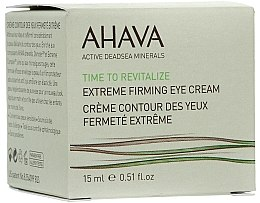 Parfémy, Parfumerie, kosmetika Zpevňující oční krém - Ahava Time to Revitalize Extreme Firming Eye Cream