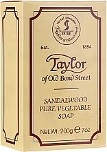 Parfémy, Parfumerie, kosmetika Mýdlo Santalové dřevo - Taylor of Old Bond Street Sandalwood Soap