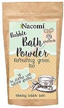"Parfémy, Parfumerie, kosmetika Pudr do koupele ""Osvěžující zelený čaj"" - Nacomi Refreshing Green Tea Bath Powder"