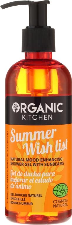 Sprchový gel Summer wish list - Organic Shop Organic Kitchen Shower Gel