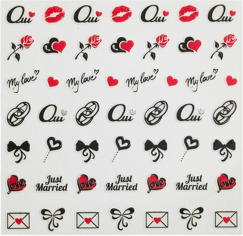 Nálepky pro nehtový design - Peggy Sage Decorative Nail Stickers Wedding — foto N1