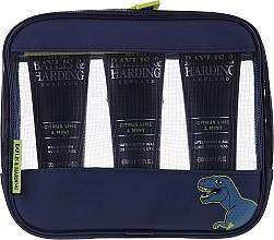 Parfémy, Parfumerie, kosmetika Sada - Baylis & Harding Men's Citrus Lime & Mint Bag(hair/body/wash/100ml+face/wash/100ml+a/sh/balm/100ml+acc)
