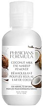Parfémy, Parfumerie, kosmetika Odstraňovač očního make-upu - Physicians Formula Coconut Milk Eye Makeup Remover